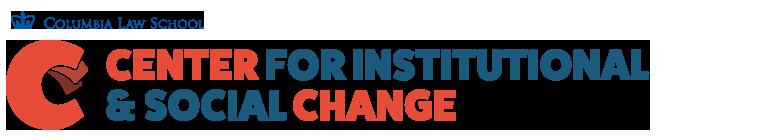 Center for Institutional & Social Change logo